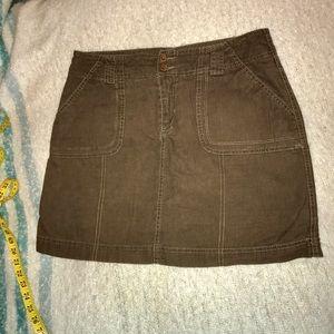 Brown skort skirt Sonoma size 10